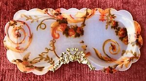 Anna Griffin Melamine Eyeglass Holder Tray Dish Classic Design for Two's Company