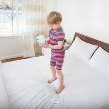 Waterproof Mattress Cover Protector King Size Bed Bug Dust Mite Soft Fitted Pad