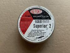 RARE DU PONT Superior 2 Type 936 B bulk Roll 35 mm B&W Panchromatic Film Vintage