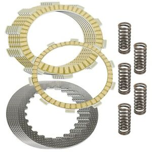 Clutch Friction Steel Plates And Springs Kit for Honda CBR600F4I 2001-2006