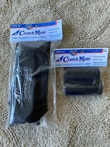 Crutch Mate Elasto Gel Under Arm Pads and Hand Grips Adult