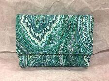 NWT ETRO Paisley PVC/Leather Trifold Wallet
