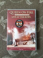 QUEEN ON FIRE LIVE AT THE BOWL DVD 2 DISCS CONCERT AND BONUS DISC WITH INTERVIEW