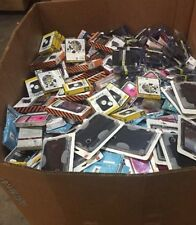 wholesale Lot of 100 various cell phone and tablet cases, bulk