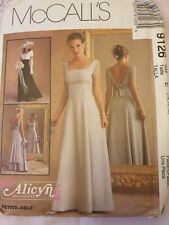 McCall's 9126 sewing pattern evening dress wedding bridesmaid 14 16 18 UNCUT