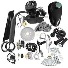 80cc 2-Stroke Motor Engine Kit Gas for Motorized Bicycle Bike Black