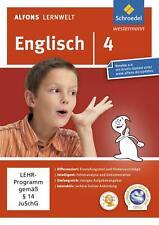 Alfons Lernwelt Lernsoftware Englisch 4. DVD-ROM für Windows 7; Vista; XP und Ma
