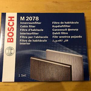 Vauxhall Movano / Renault Master Bosch Pollen Filter M2078