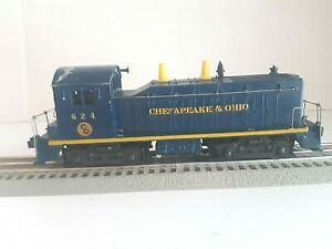 Lionel #624: NW-2 Diesel Switcher - CHESAPEAKE & OHIO (C&O) (Tested)