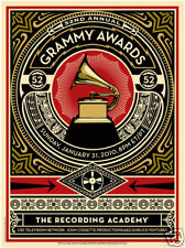 New Collectible RARE 52nd Anniversary Grammy Awards Poster Gift Memorabilia Hope