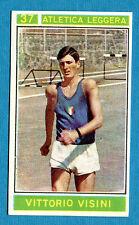 Figurina/Sticker CAMPIONI DELLO SPORT 1967/68-n. 37 - V. VISINI - ITALIA -rec