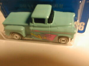 early 90`s Hot Wheels blue card #136  `56 FLASHSIDER aqua with uh  MIP BP 1992