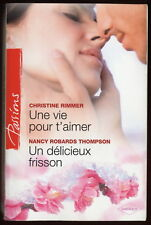 Livre HARLEQUIN..Collection PASSIONS...n° 217..2 Romans