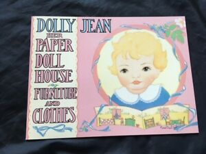Dolly Jean and Her Paper Doll House,  B. Shackman, 1997