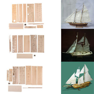 Crafts DIY Nautical Wooden Sailboat Toys Sailing Puzzles Gift for Boys Girls
