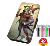Joker Harley Quinn Flip Phone Case Cover for iPhone 11 and Samsung and Huawei