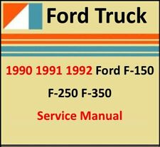 Repair Manuals Literature For 1991 Ford F 150 For Sale Ebay