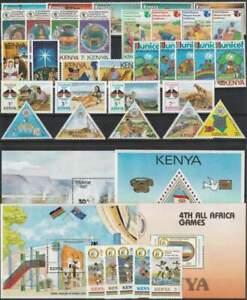Lot Kenia Sätze,Blöcke,Briefmarken, einwandfrei postfrisch**