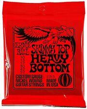 Ernie Ball 2215 Skinny Top Heavy Bottom Electric Guitar Strings Slinky 10-52