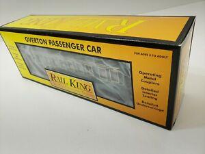 RAIL KING / MTH OVERTON COACH CAR WANDERER NEW IN BOX 30-6405B O GAUGE NICE!!!