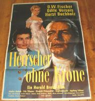 A1. Filmplakat, HERRSCHER OHNE KRONE,Horst Buchholz, O.W. Fischer, Odile Versois