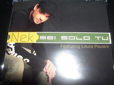 Nek Featuring Laura Pausini – Sei Solo Tu CD Single – Like New