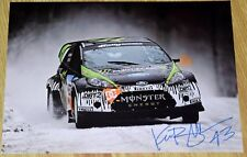 KEN BLOCK #43 Signed PHOTO PRINT #2 - X-Games  *Monster *DC *Rally
