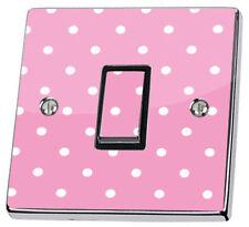 Pegatinas de pared color principal rosa para el dormitorio