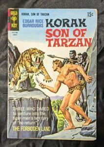 1968 Gold Key #24 Korak Son of Tarzan 15c Silver Age Comic Book Burroughs