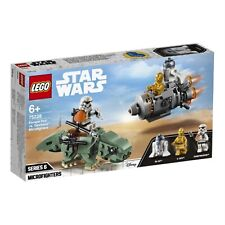 Escape Pod vs. Dewback Microfighters LEGO Brand New LEGO-75228