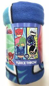"Blanket Fleece Throw 45""x60"" Soft Warm PJ Masks Good VS Evil NEW"