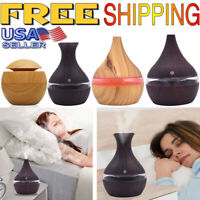 Air Aroma Essential Oil Diffuser LED Ultrasonic Aroma Aromatherapy Humidifier🔥