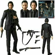 UK John Wick Killer MAFEX 070 Action Figure Model Toys Collections Gift W/Box