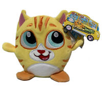 Yellow Cat CRUNCHIMALS New With Tag Kiddy Crunch Kitty