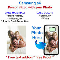 Personalized Custom Picture Phone Case Cover For Samsung Galaxy S6