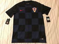 Croatia Kroatien 2018 Nike Authentic Away Shirt Jersey Trikot 893864-010 Size XL