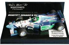 MINICHAMPS 950092 960004 960053 960054 BENETTON F1 car Herbert Berger Alesi 1:43