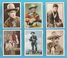 FILM STARS  - JF SPORTING COLLECTIBLES - SET OF XL 24 COWBOY FILM  &  TV STARS
