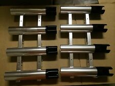 USED CUSTOM 2SETS Quad Aluminum Fishing Rod Holders