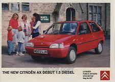 Citroen Ax 1.1 I/1.5 D Varios las fotos de prensa 1993-4 *** Post UK Libre ***