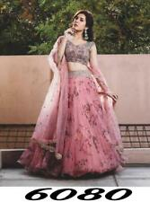 Printed With Work Lehenga Choli Net Fabric Indian Party Wear Lengha Suit RTC6080