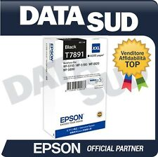 CARTUCCIA ORIGINALE EPSON T7891XXL BLACK INK-JET WF-5110 5190 5620 5690