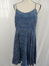 GAP Blue White Spagetti Strap Dress Size LARGE New with Tags $29.94