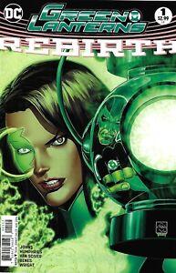 Green Lanterns Rebirth Comic 1 Cover D Second Print Variant 2016 Geoff Johns DC