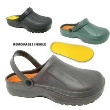 Mens Rubber Clogs Mules Slipper Nursing Garden Beach Sandals Hospital Shoes Size