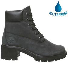 Timberland Kinsley 6 Inch Womens Black Waterproof Chukka Ankle Boots Size 4-8