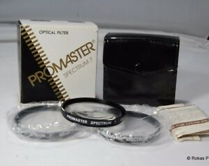 Promaster 52mm kit Filters close up macro set