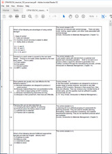 Apics Cpim Bscm 350 excercises simulation, sample test, help to Pass Pdf E File
