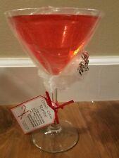 Partylite - Scents of Illumination - Candy Cane Martini Tealight Holder - NIB