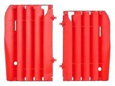 Honda radiador Lumbreras/rad guardias CR 125/250/CRF 450 R 2000 - 2004 Rojo